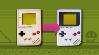 Refurbishing An Old And Dirty Game Boy With Budget RetroBrite!