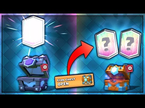 ULTIMATE DOUBLE CLAN CHEST LEGENDARY OPENING | Clash Royale | BEST CLAN CHEST OPENING EVER!