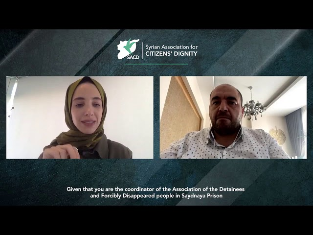 SACD' Mounir Fakir, former Sednaya detainee on the significance of International Day of the Disappea
