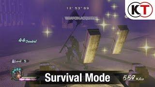 SAMURAI WARRIORS 4-II - SURVIVAL MODE GAMEPLAY