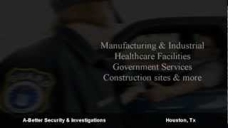 Security Guard Company  Houston TX Call us now 713-377-1739