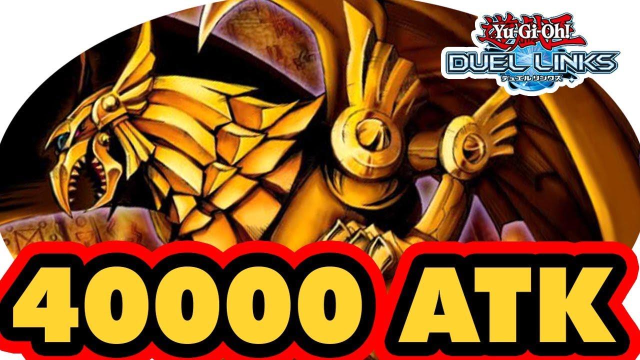 KING OF GAMES 40000 ATK GOD CARD - Yu-Gi-Oh! Duel Links