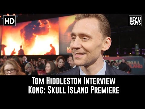 Tom Hiddleston Interview - Kong: Skull Island Premiere