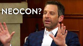 Sam Harris: Is He a Neocon?