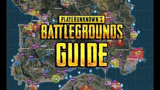 PLAYERUNKNOWN'S BATTLEGROUNDS GUIDE - Beginners Guide! Tips! Tricks! Final Circle! PUBG LIVE!