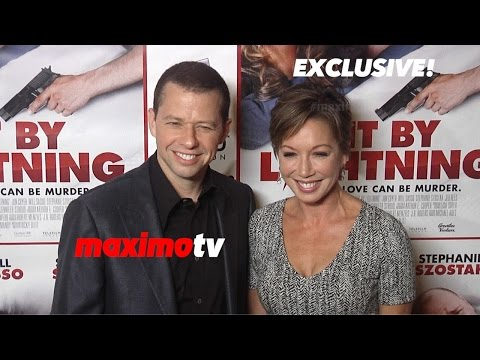 Jon Cryer & Lisa Joyner  Hit by Lightning Los Angeles Premiere  Red Carpet