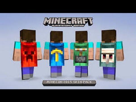 comment avoir des skin sur minecraft.ps3.ps vita.ps 4