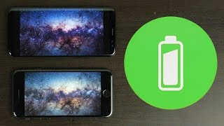 iPhone 8 vs Samsung S8 - Battery Drain Test