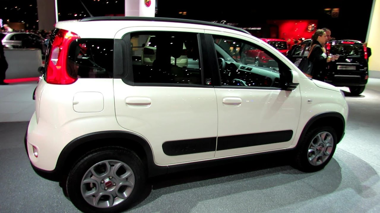 2013 fiat panda 4x4 exterior and interior walkaround 2012 paris auto show youtube. Black Bedroom Furniture Sets. Home Design Ideas