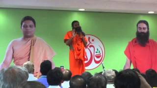 YogRishi Swami Ramdev Address Delhi karykartas at talkatora stadium 22April2016