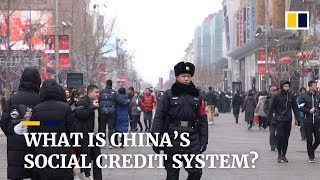 Trust and consequences: China's evolving 'social credit system'