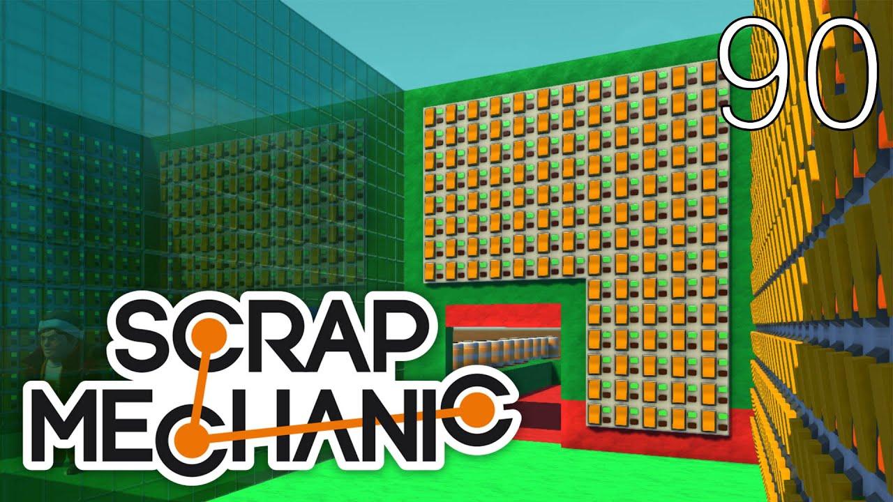 Scrap Mechanic [#90] Mapa Wyścig by Omiv1 (Mapa Widza)