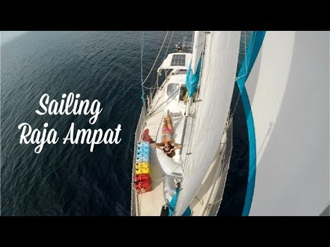 Exploring Raja Ampat by Sailboat (Sailing Nandji) Ep 96