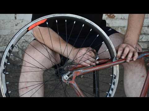 Разборка, сборка колеса, регулировка спиц. Ремонт заднего колеса спортивного велосипеда. Часть 2