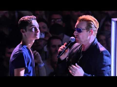 U2  City Of Blinding Lights  in Paris Legendado em PT BR