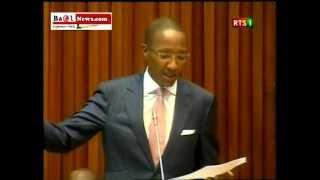 La declaration du Premier Ministre Abdoul Mbaye 26 decembre 2012
