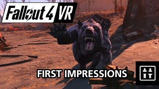 A Few Things You Should Know About Fallout 4 VR - First Impressions