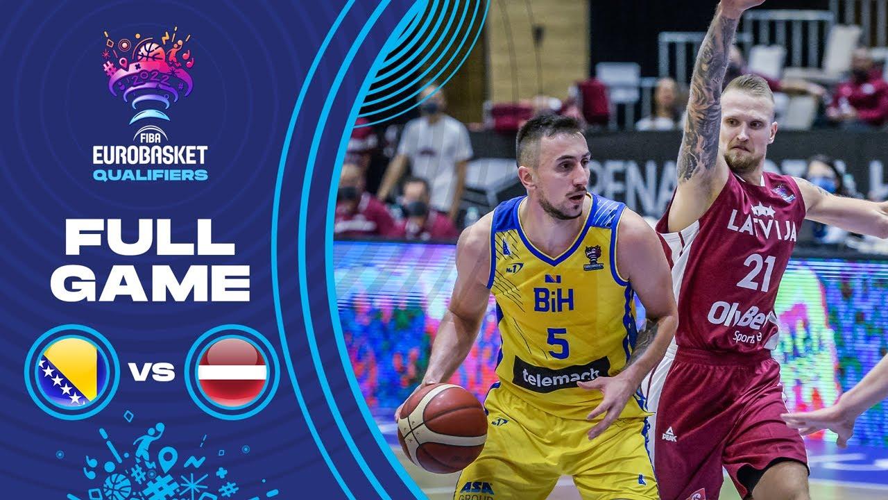 Bosnia and Herzegovina v Latvia - Full Game