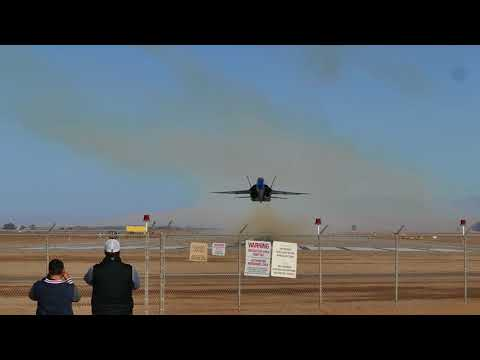 Plane Takes Off from Naval Air Facility El Centro, California