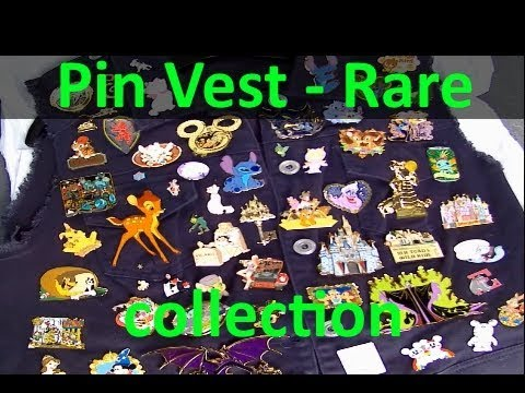 My rare pin collection on a vest do it yourself disney pins my rare pin collection on a vest do it yourself disney pins project solutioingenieria Gallery