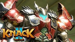 Knack 2 Gameplay German PS4 PRO - 10 Meter Knack Vs. Riesen Robo