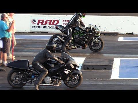 Motorcycles: Watch This Turbo Hayabusa Race A Ninja H2 - PressFrom - US
