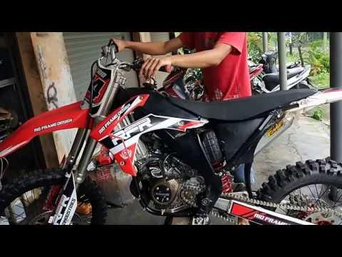 Modifikasi ninja 150cc untuk grasstrack