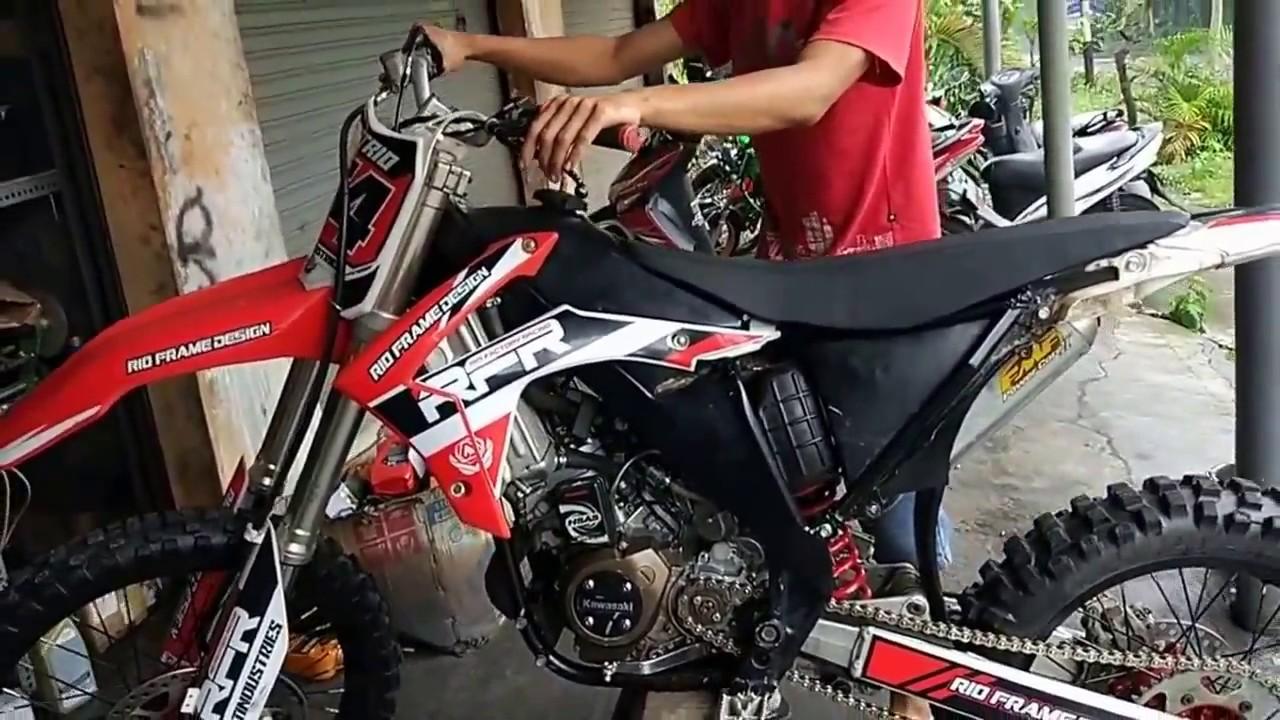 Modifikasi Ninja 150cc Untuk Grasstrack Youtube