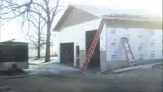 Garage Construction - Time Lapse