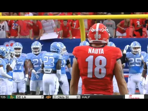 Georgia vs North Carolina football 2016 full game