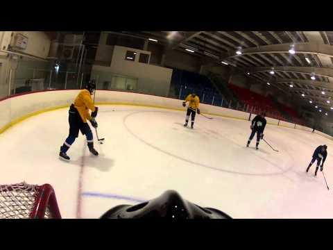 First Go-Pro vid + lots of skating + Big Saves