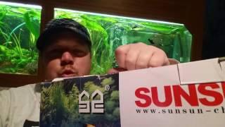SunSun Aquarium Außenfilter mit UV Lampe Installation und Test deutsch