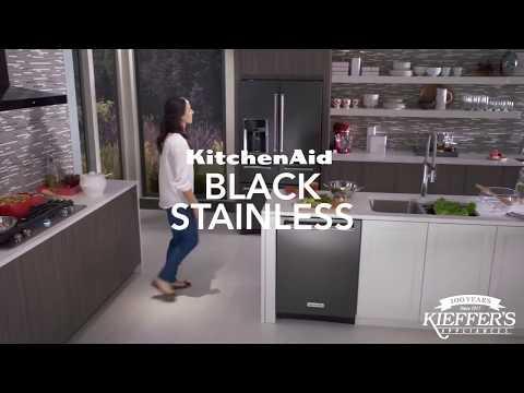 KitchenAid Black Stainless-Steel Appliances