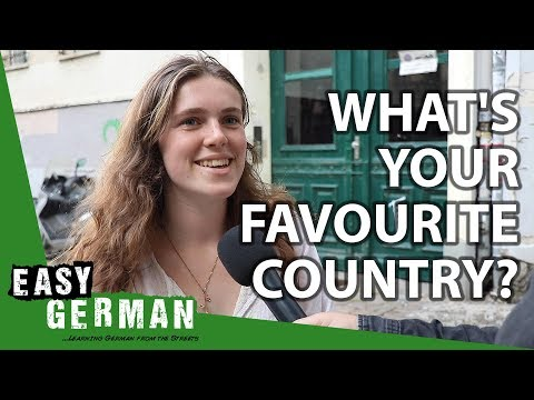 What's your favourite country? | Easy German 306
