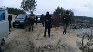 Янтарь - копатели уже в Киевской области