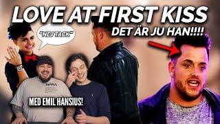 REAGERAR PÅ LOVE AT FIRST KISS: MATTIAZ ÄR MED HÄR OCKSÅ! ft. Emil Hansius