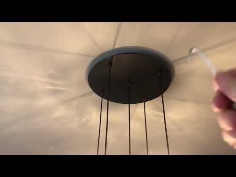 Room & Board Pendant Light and Canopy DIY Installation