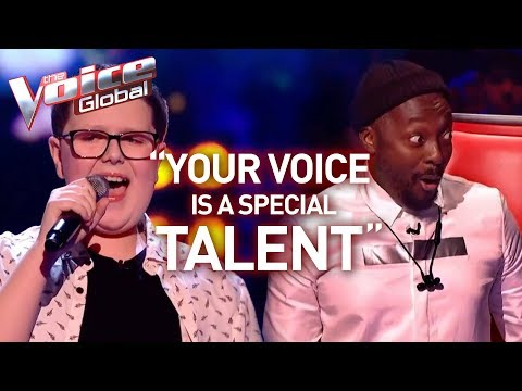 14-Year-Old SHOCKS 'The Voice' coaches with HIGH NOTES