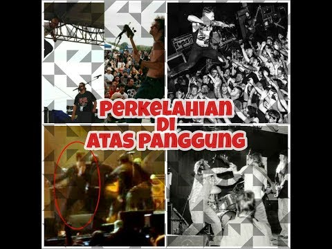PERKELAHIAN DI ATAS PANGGUNG BAND ROCK/METAL ! Mp3