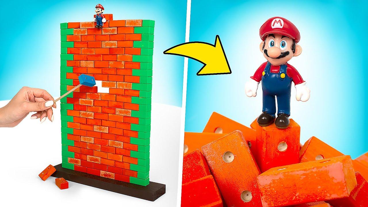 DIY Jogo do Super Mario Game NA VIDA REAL!