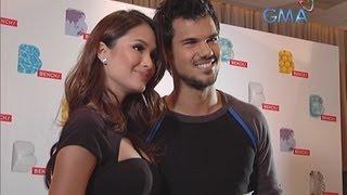 Heart Evangelista's heart-to-heart talk with Taylor Lautner