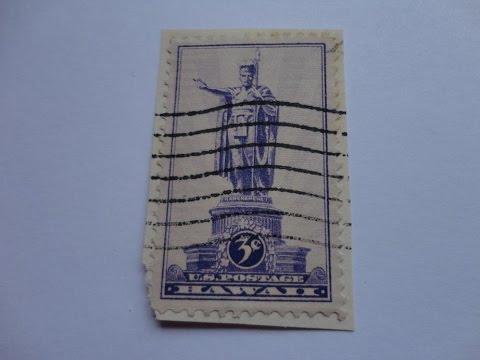 Checking U.S. Postage Stamps