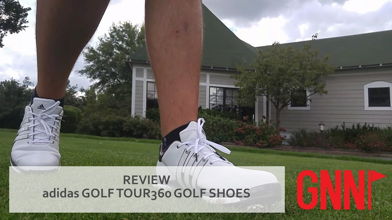 Review Adidas Tour360 Golf Shoes Youtube