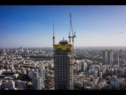 SKYLINE Cranes' Climbing Luffing Tower Cranes