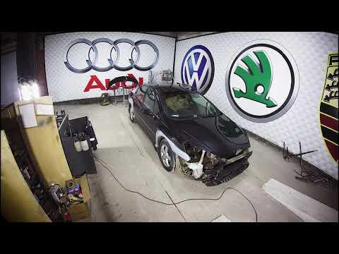 Кузовной ремонт и покраска Peugeot 407. НемецАВТО г.Серпухов