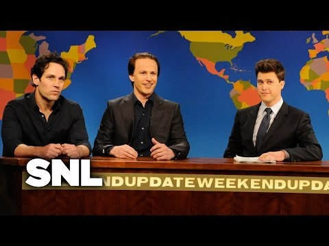 Weekend Update: Nicolas Cage - Saturday Night Live