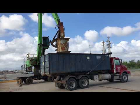 Loading Ship in Ponce Puerto Rico