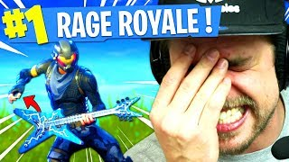 RAGE ROYALE sur FORTNITE: Battle Royale !!