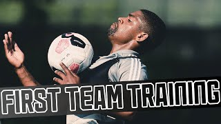 Turning up the heat | First team get back on the training pitches!
