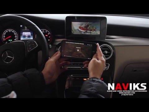 2015 Mercedes Benz GLC Class X253 NAVIKS HDMI Video Interface Add: Rear Camera, Smartphone Mirroring